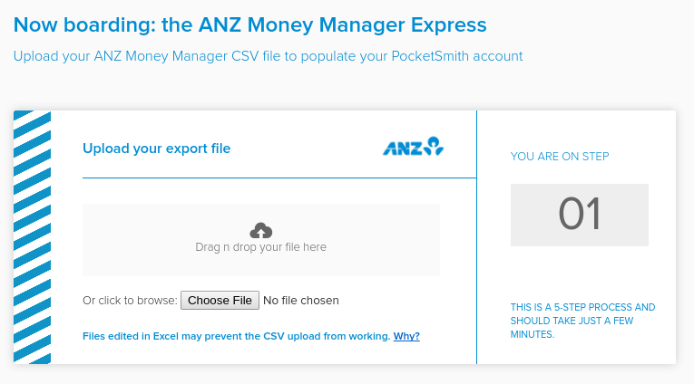 ANZ Money Manager Express Importer for PocketSmith